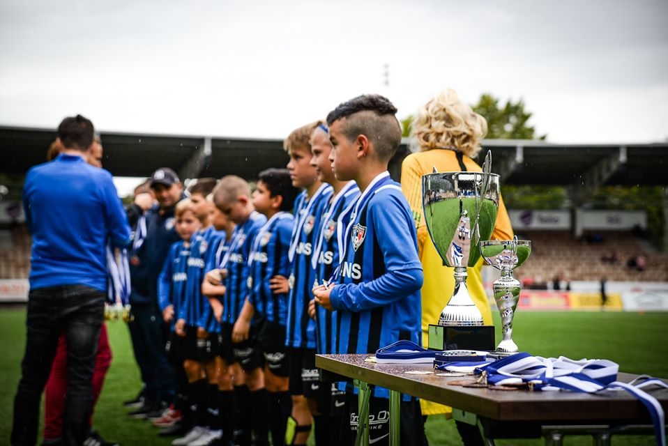 HJK Cup youth football tournament, FC Inter Turku2 019. Photo: Mikko Huisko / Laajasalon Opisto