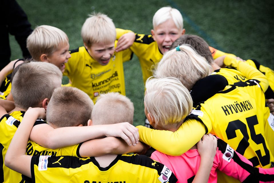 HJK Cup youth football tournament, KuPS 2019. Photo: Mikko Huisko / Laajasalon Opisto